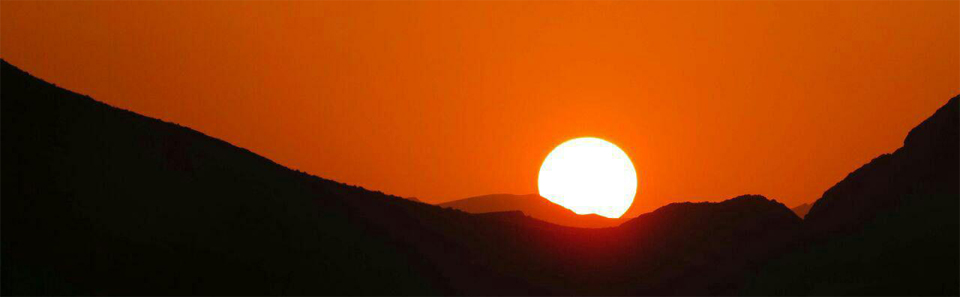 غروب - پارک ملی و پناهگاه حیات وحش قمیشلو / عکس از: محمد حسین دادخواه