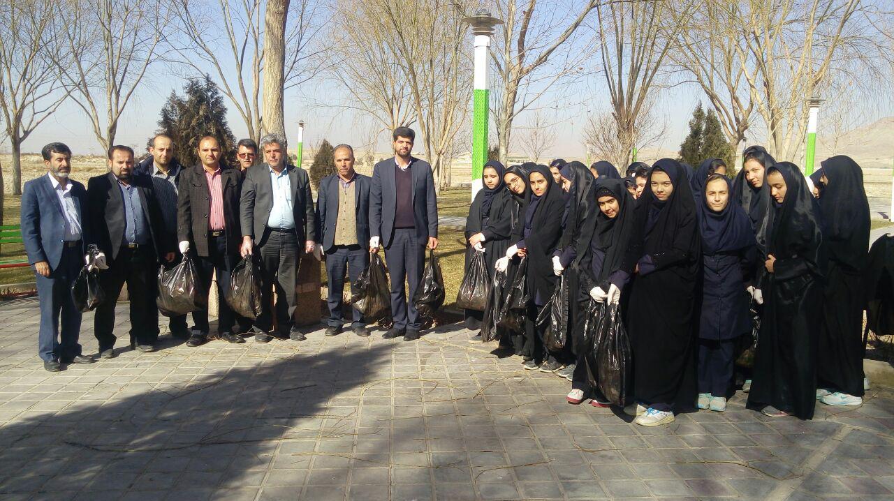 برگزاري ويژه برنامه هاي روز ملي هواي پاك در شهرستان مباركه