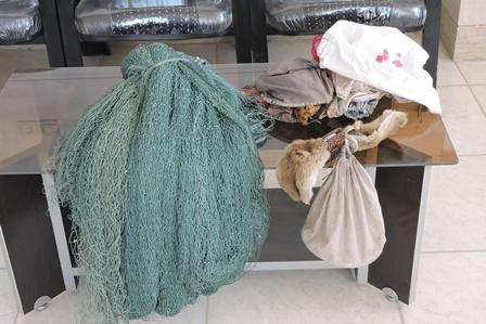 دستگيري دو متخلف صيد پرندگان درمناطق آزاد شهرستان چادگان